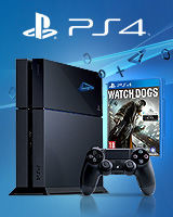 Konsola Playstation 4 + Watch Dogs