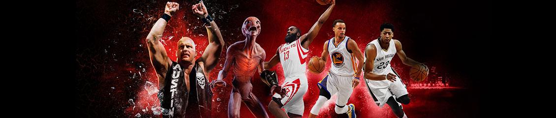 NBA, WWE i XCOM
