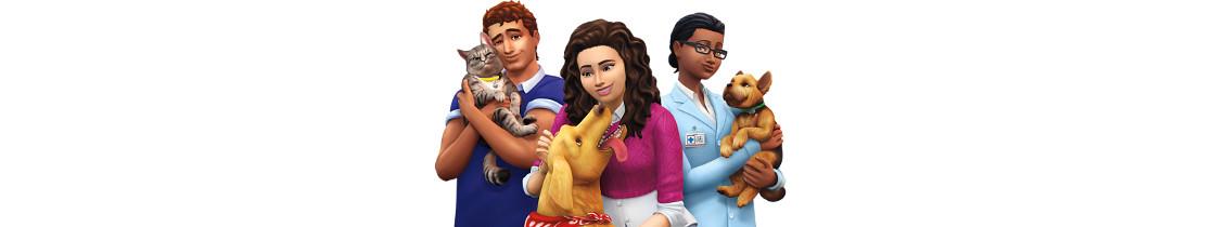 The Sims 4 psy i koty
